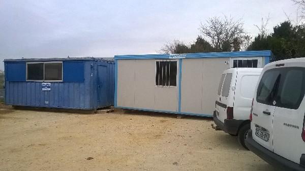 Bungalows de chantier, Entreprise Rijol, secteur Jonzac 17500